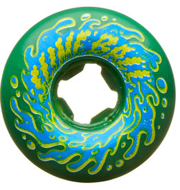 Slime Balls Slime Balls Double Take Vomit Mini Wheels Green Black 53mm 97a (set of 4)