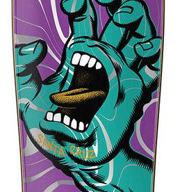Santa Cruz Skateboards Santa Cruz Screaming Hand Ooze Cruzer 80s 9.7 x 31.7
