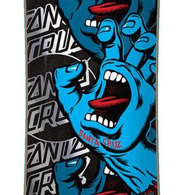 "Santa Cruz Skateboards Santa Cruz Screaming Hand Stack Cruzer 10.0"" x 40"""