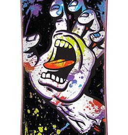"Santa Cruz Skateboards Santa Cruz Hand Splatter Drop Thru Cruzer 9.0"" x 36"""