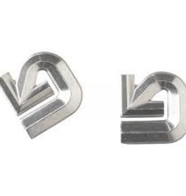 Burton Burton Aluminum Logo Mats - Silver