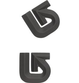 Burton Burton Aluminum Logo Mats - Black