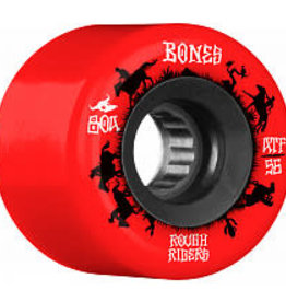 Bones Bones ATF Rough Rider Wheels 56mm 80A Wranglers Red (set of 4)