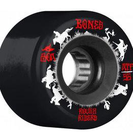 Bones Bones ATF Rough Rider Wheels 56mm 80A Wranglers Black (set of 4)
