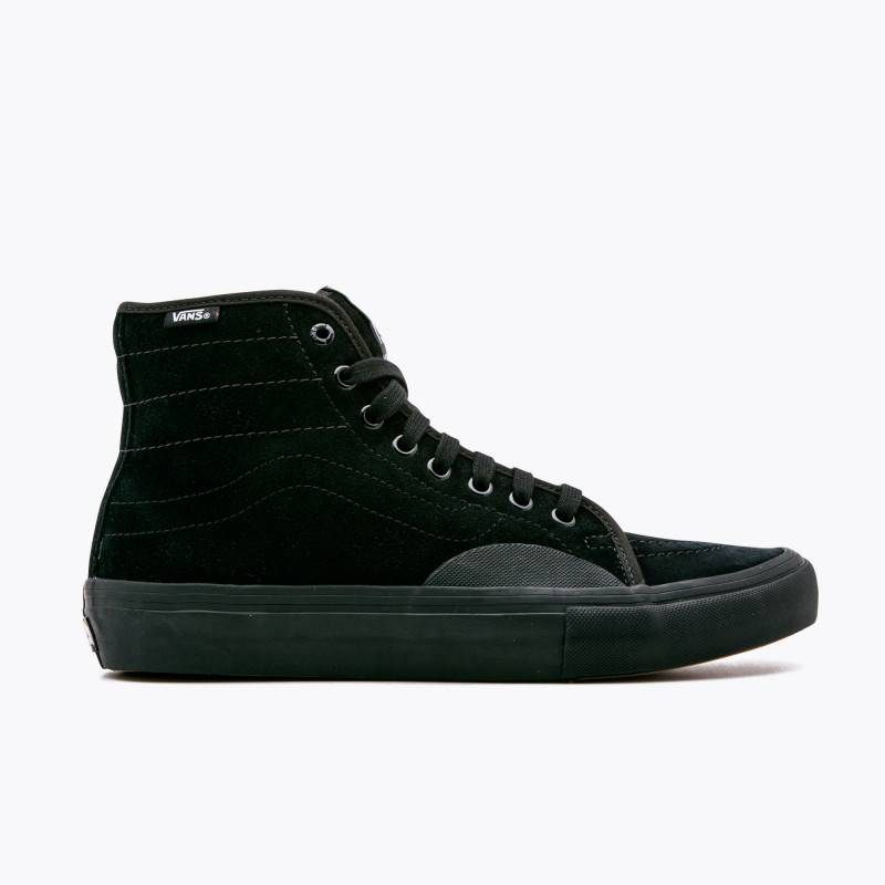 Vans Vans AV Classic High Pro Skate Shoes - Blackout - Attic Skate ... bcbd7af42