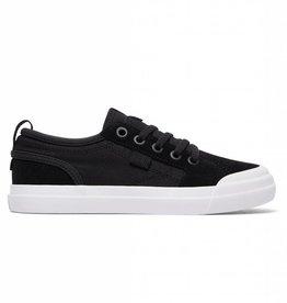 DC DC Evan Youth Skate Shoes - Black/White