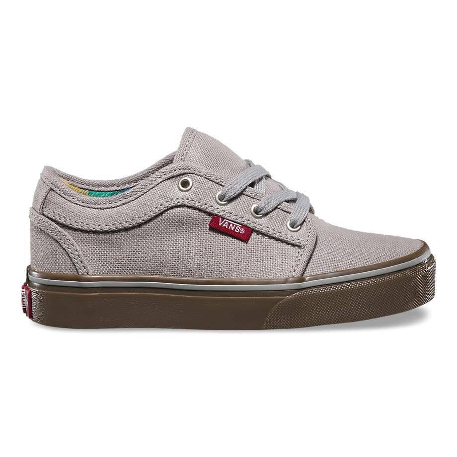 b6ec54aeb9 Vans Vans Off The wall Chukka Low Kid s Aztec Stripe - Light Grey ...