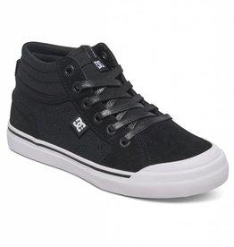 DC DC Evan HI High Top Youth Skate Shoes - Black/White