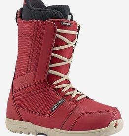 burton Snowboards Burton Invader Snowboard Boot 2017 - Red
