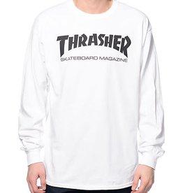 Thrasher Thrasher Skate Mag  L/S T-Shirt - White