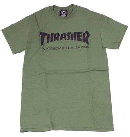 Thrasher Thrasher Skate Mag Logo T-Shirt - Army Green