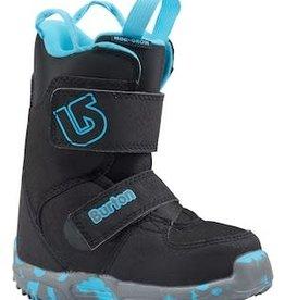 burton Snowboards Burton Mini-Grom Youth Boots 2018 - Black