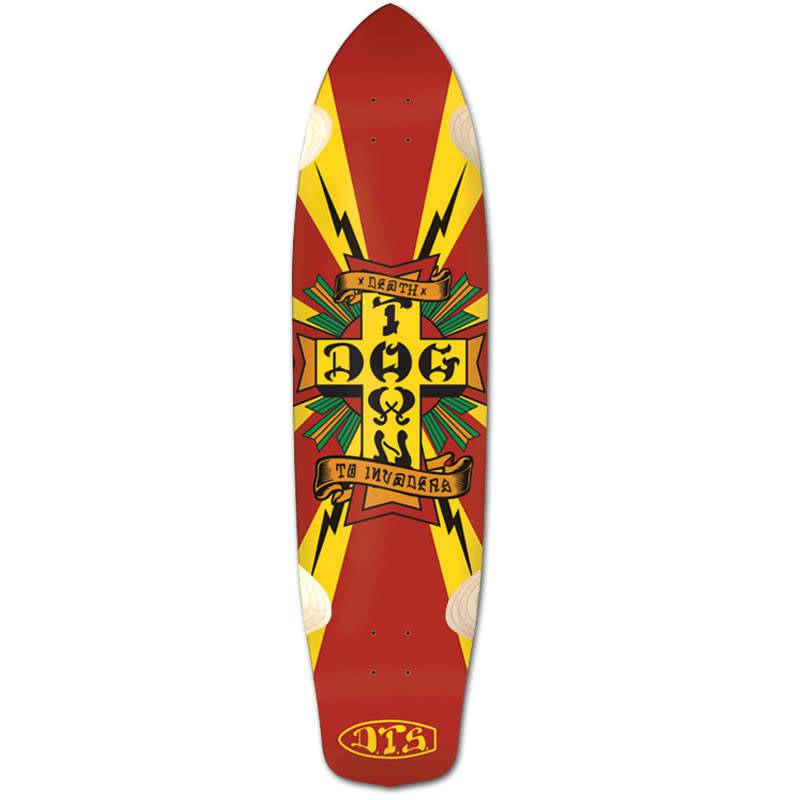 e8a4f5cdc4 Dogtown Dogtown Skateboards Longboard Deck - Death to Invaders ...