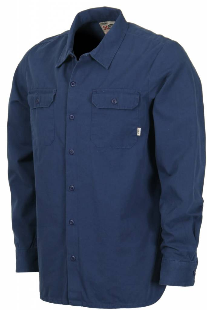 56467633a0 Vans Vans Off The Wall Geoff Rowley Workwear L S Button-Up Shirt Black