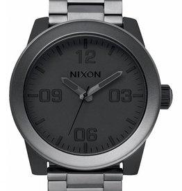 Nixon Nixon Corporal SS Watch - Matte Black/ Matte Gunmetal