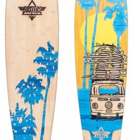 "Dusters Dusters Quiver Pintail Complete Longboard 44"" - Blue/Orange"