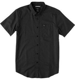 RVCA RVCA That'll Do Oxford SS Button Shirt - Pirate Black