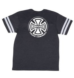 Independent Independent Hustle Football T-Shirt - Vintage Smoke