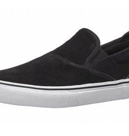 Emerica Emerica The Wino G6 Men's Slip On Skate Shoes - Black/White/Gold