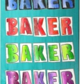 "Baker Baker TF Colored Pencil Deck 8.25"" x 31.875"""