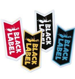 Black Label Black Label Sticker - Banner - colors vary