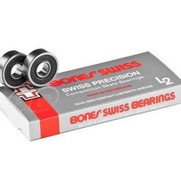 """Bones Bones Bearings - Swiss """"L2"""" Bearings (8 pack)"""