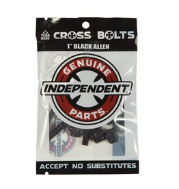 "Independent Independent - Allen Cross Bolts Hardware 1"""
