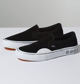 0d454c83472 Vans Vans x Independent Slip-On Pro Skate Shoes - Black