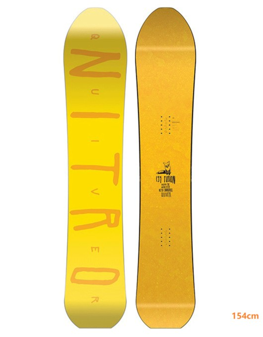 Nitro 2019 Nitro Snowboard Deck - Fusion