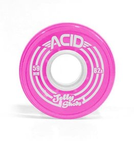 Acid Chemical Co. Acid Chemical Co. Jelly Shots Wheels 59mm 82a Pink (Set of 4)