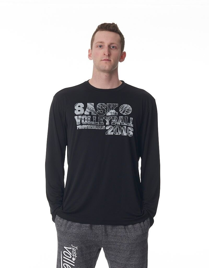 Authentic T-Shirt Company Sask Provincial 2016 Long Sleeve Pro Team Tee