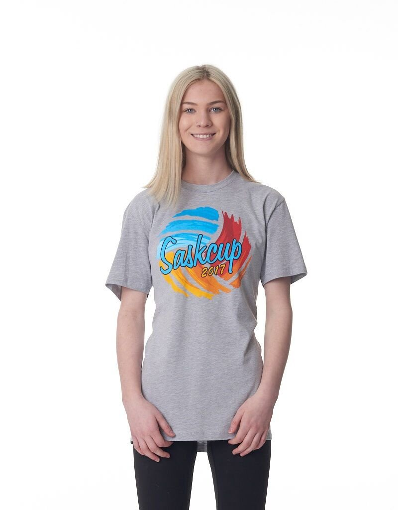 Just Volleyball Sask Cup 2017 Short Sleeve Tee