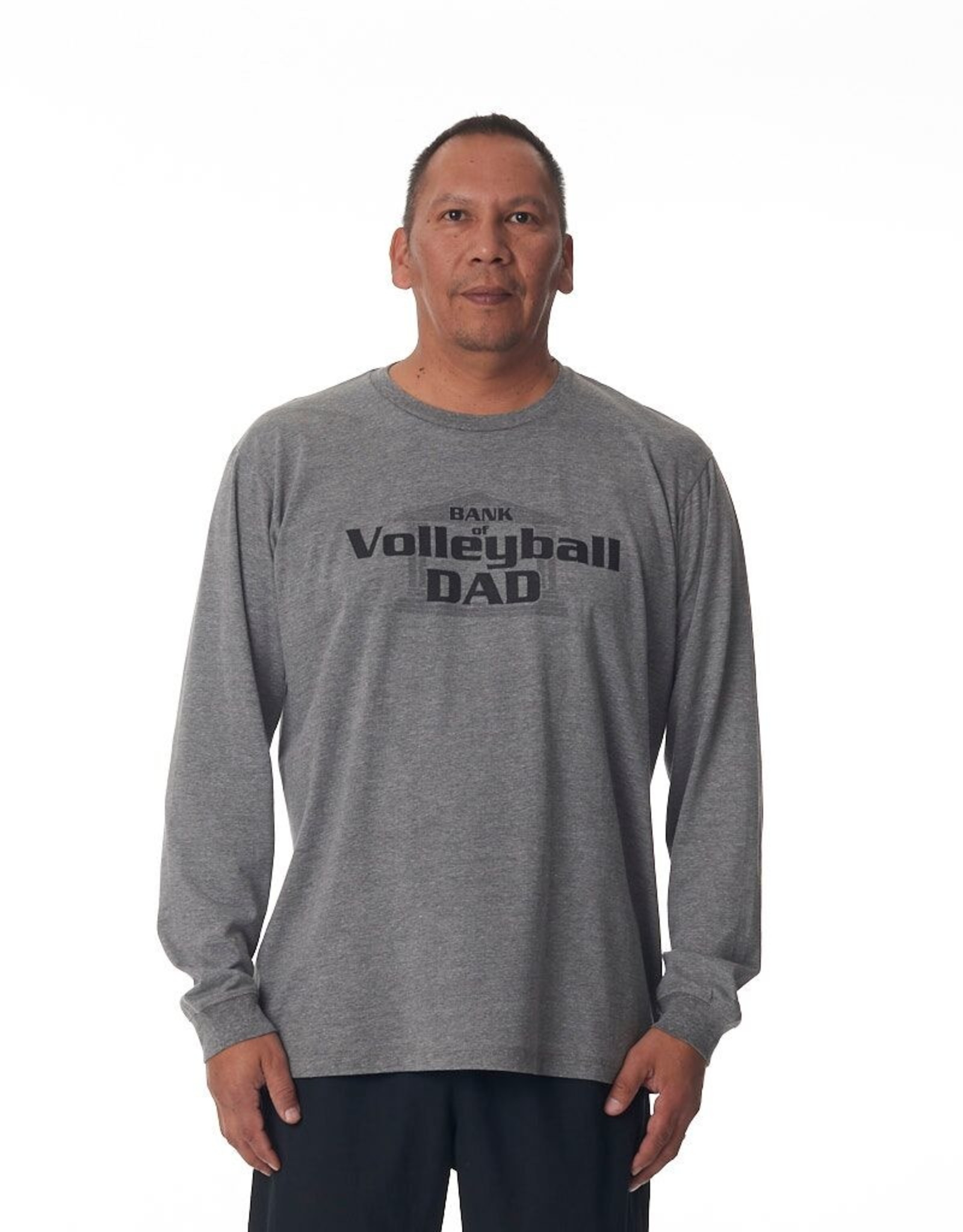 Just Volleyball JV Bank of Dad L/S Tee