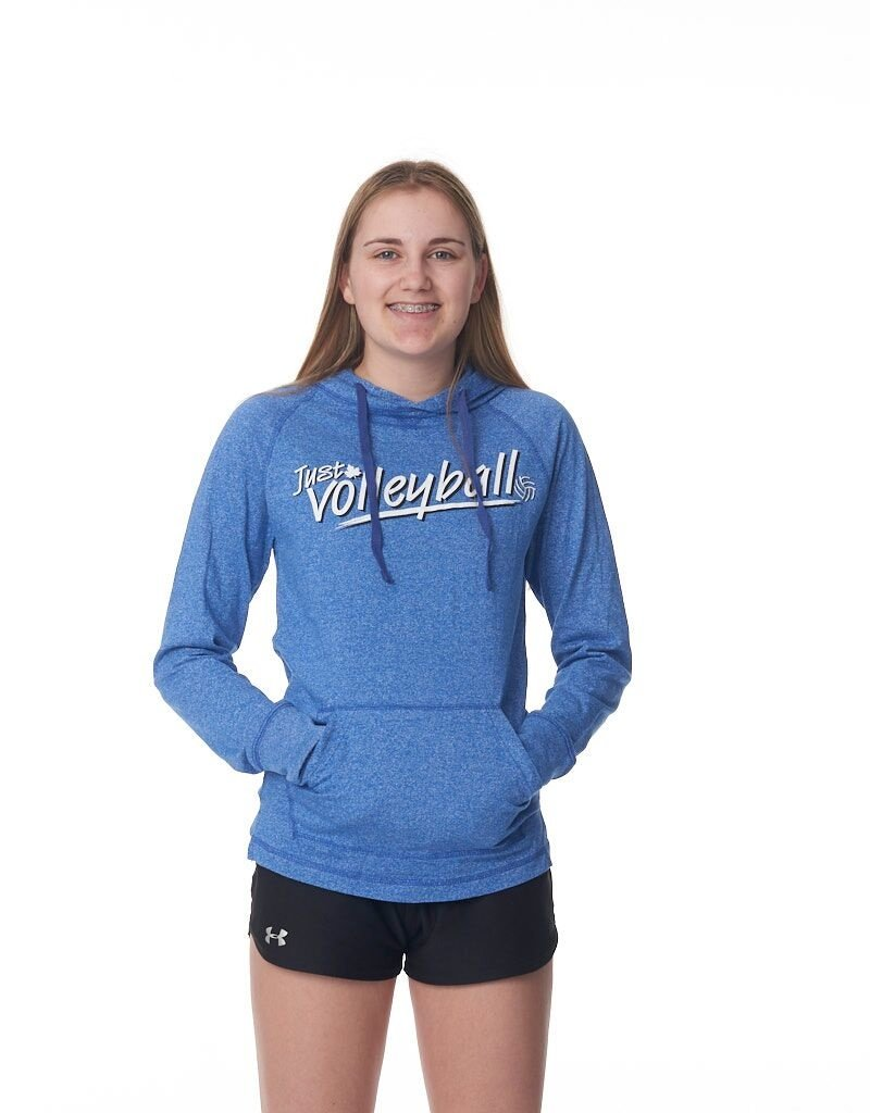 Just Volleyball JV L/S Hooded Tee