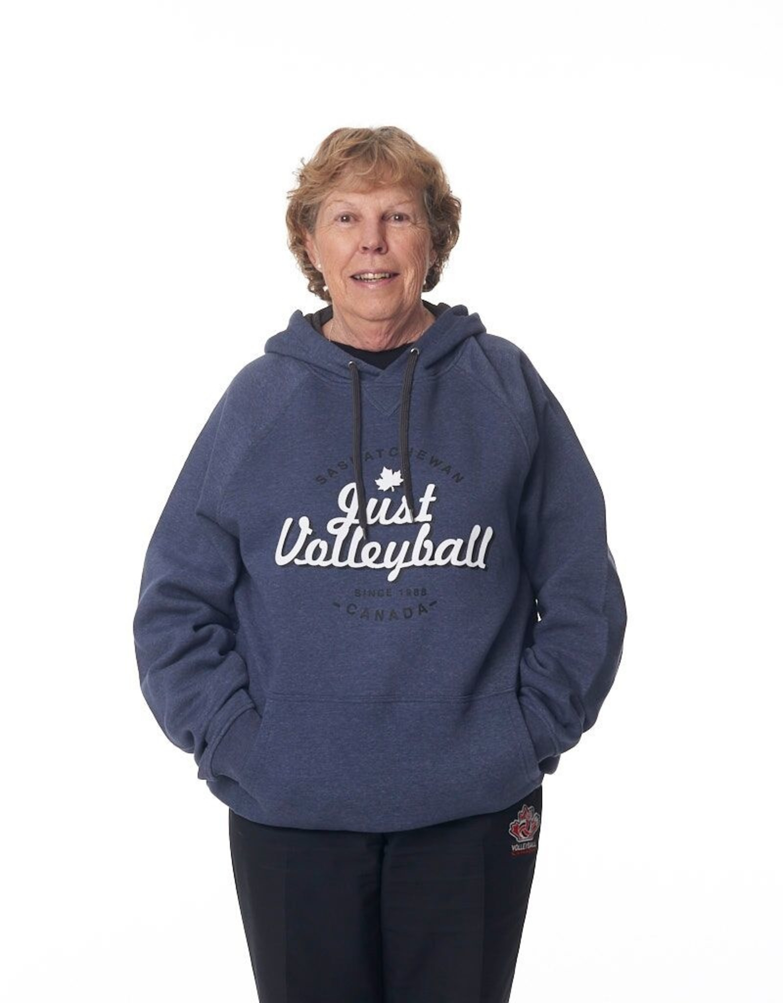 Just Volleyball JV Vintage Men's Hood F2045