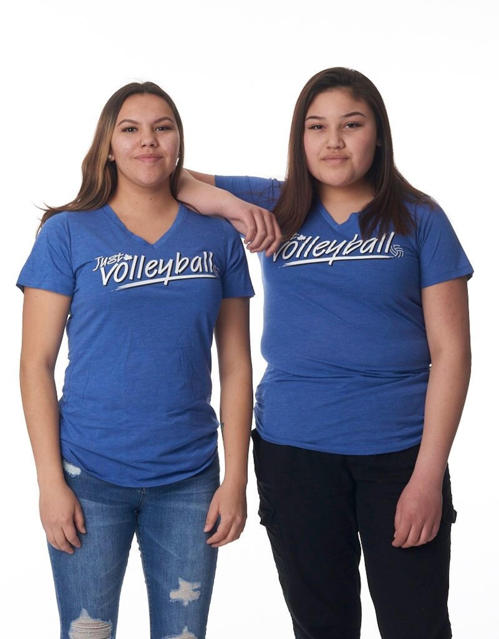 Just Volleyball JV Women's S/S Vneck Tee Koi8022