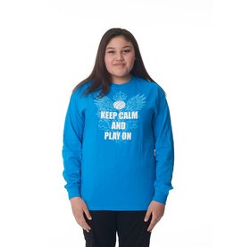 Just Volleyball Keep Calm Long Sleeve Tee