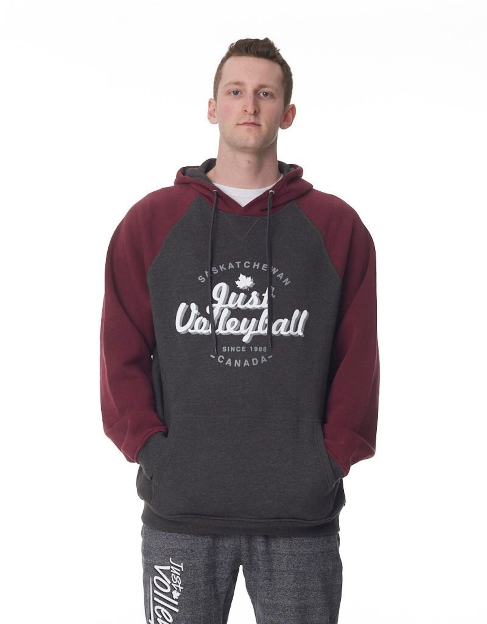 Just Volleyball JV Vintage Men's Hood F2045