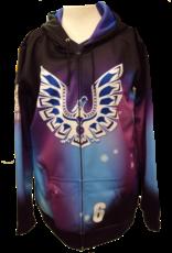 Just Volleyball Custom Hoods - Full Zip