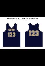 Just Volleyball Custom Track Singlets - Men's