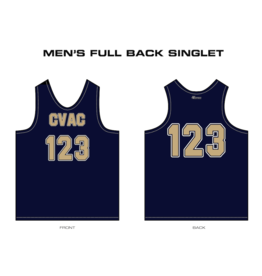 Just Volleyball Custom Track Singlets - Men's