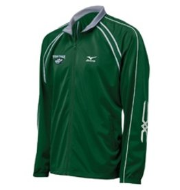Mizuno Team II Men's Track Jacket Full Zip - Discontinued