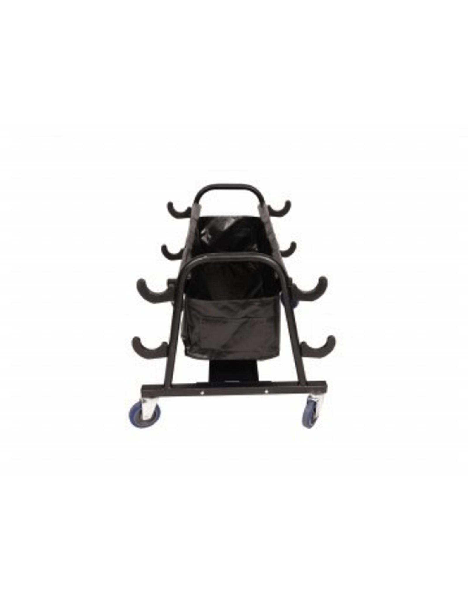 Senoh Upright Storage Cart For 4 Poles