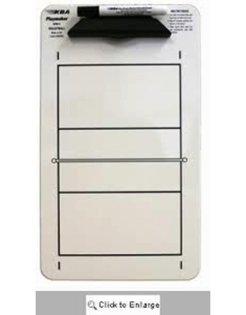 "Korney Board Inc KBA 9""x15.5"" SPM Volleyball Clipboard Dry Erase"