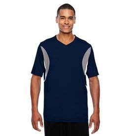 Team 365 Team 365 Men's Short-Sleeve Athletic V-Neck All Sport Jersey
