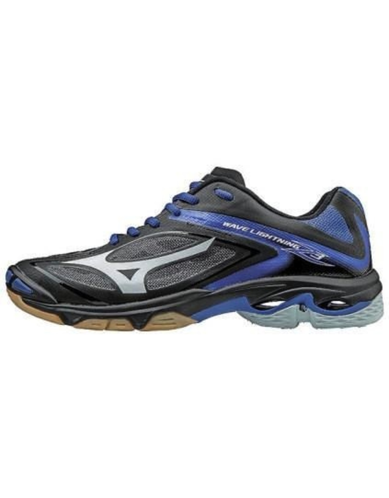 Mizuno The newest model of our classic Lightning shoe offered in a low-cut model. Updated with a better fit, you will feel more supported through your quick movements side to side. The new outsole with the Dura Shield feature was designed with your hitting appro
