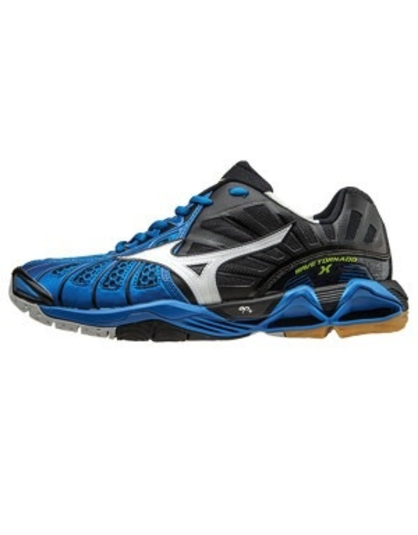 Mizuno The Men's Wave Tornado X offered in a classic low-cut. The Infinity Wave Plate in the shoe's heel offers premium cushioning and shock attenuation for the strenuous jumping and landing that occurs during court play. Ideal for use during both practices and