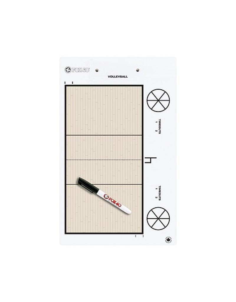 Fox 40 Pro Coaching Clip Board - Volleyball