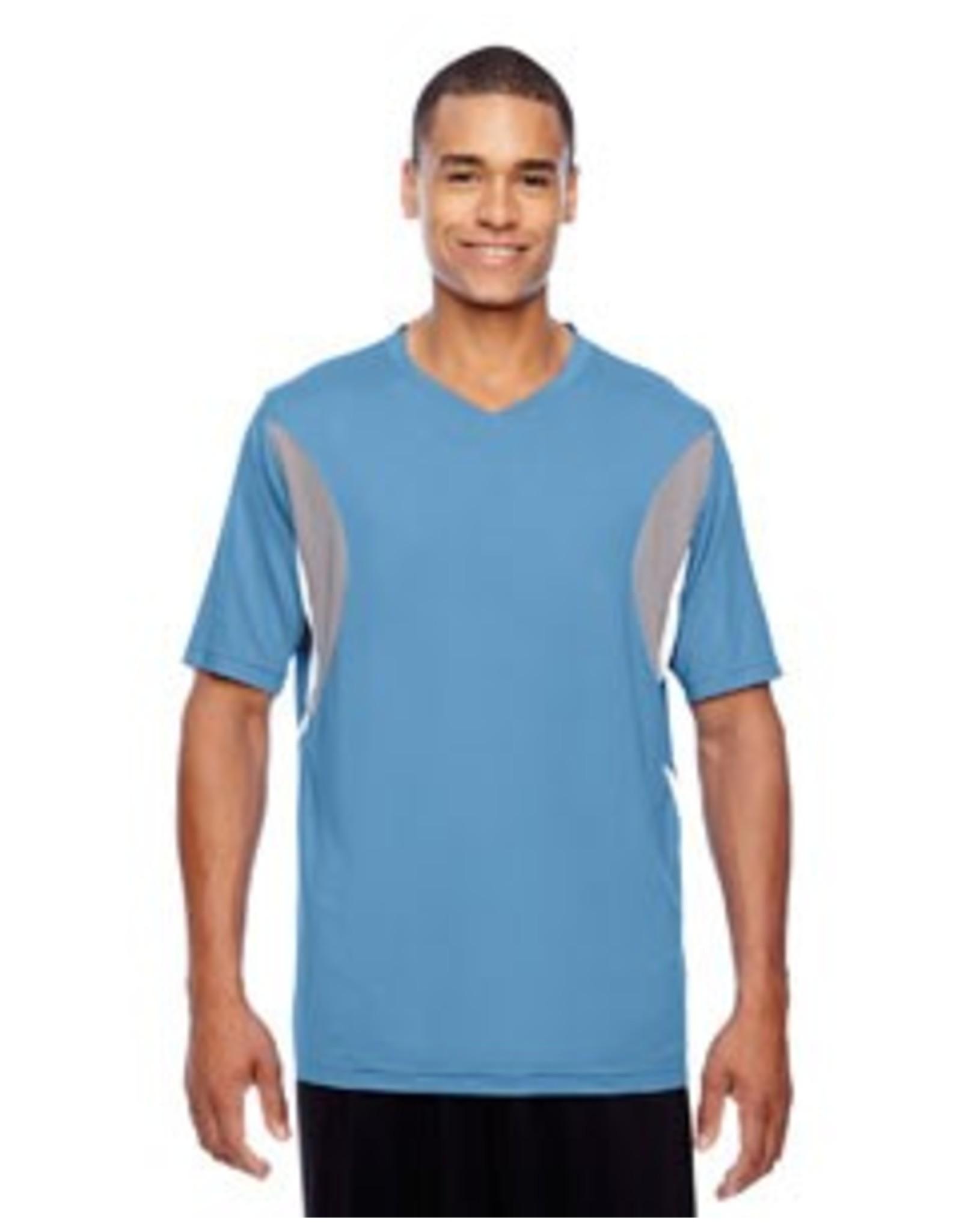 Team 365 Team 365 Men's Short-Sleeve Athletic V-Neck All Sport Jersey