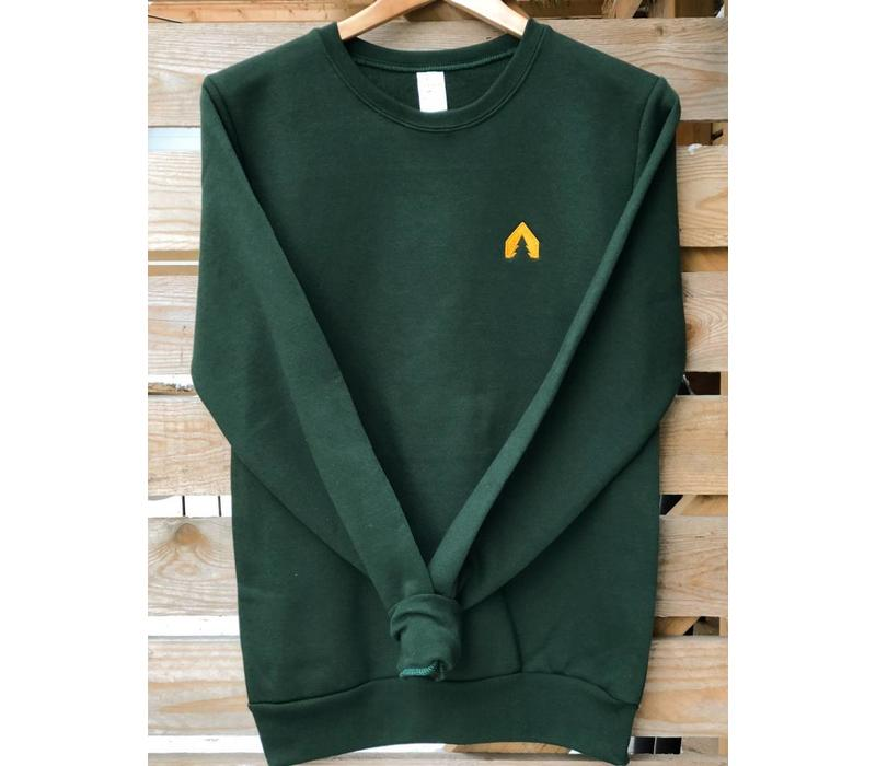 Crew Neck Olodge - Forest